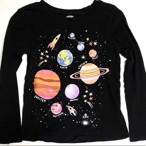Old Navy Space Galaxy Graphic Tee 5T
